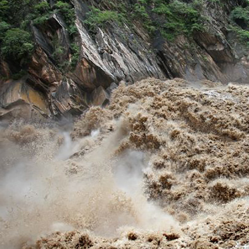 Providing images of geological disaster areas (including geology, geomorphology, hydrology, vegetation, etc.) ,providing basic data for disaster assessment to help the government to do well in disaster relief, disaster relief and disaster prevention
